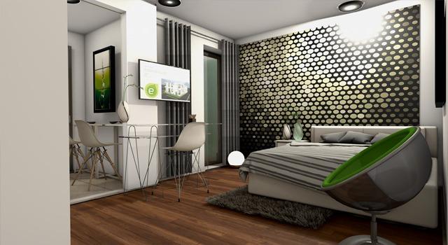 1-Zimmer-Comfort-Studio-Apartment mit Queen-Size-Bett