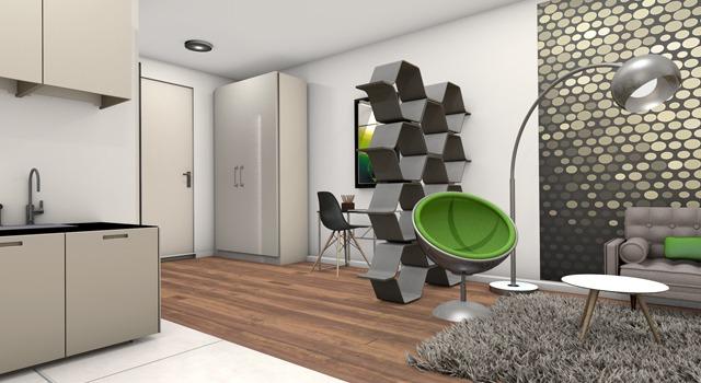 2-Zimmer-Deluxe-Apartment mit Queen-Size-Bett & Sofabett